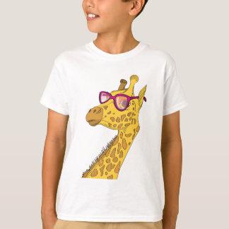 La girafe de hippie t-shirt