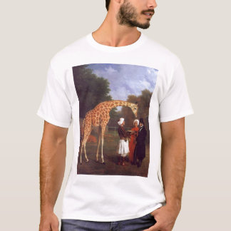 La girafe de Nubian T-shirt