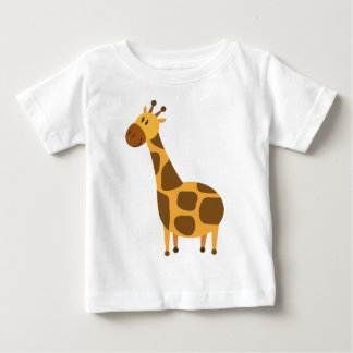 La girafe personnalisée badine le cadeau de bande t-shirt pour bébé