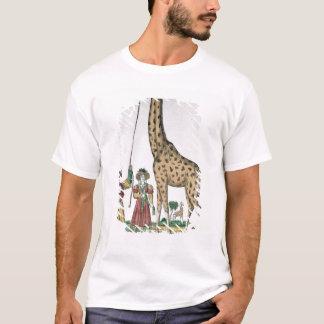 La girafe présente au roi de Pasha de T-shirt