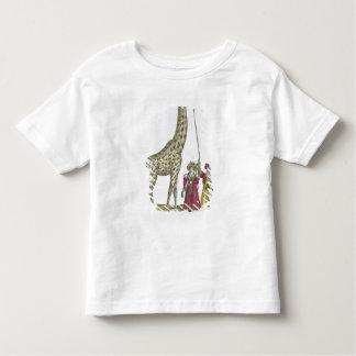 La girafe présente au roi t-shirt pour les tous petits