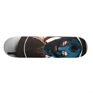 La gorgone plateaux de skateboards customisés