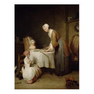 La grâce, 1740 2 carte postale