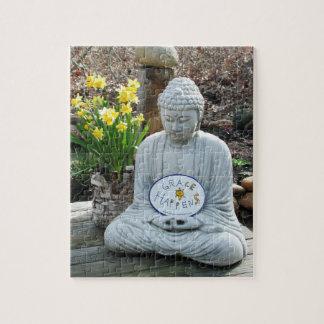 La grâce se produit puzzle de Bouddha