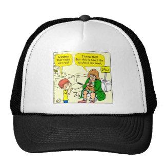 La grand-maman 903 vérifie la bande dessinée casquettes de camionneur