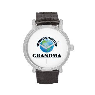 La grand-maman la plus chaude du monde montres bracelet
