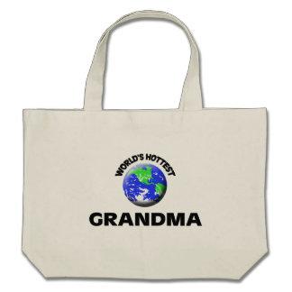 La grand-maman la plus chaude du monde sacs fourre-tout