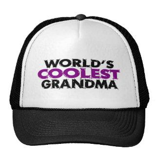La grand-maman la plus fraîche des mondes casquette trucker