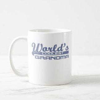 La grand-maman la plus fraîche du monde mug blanc