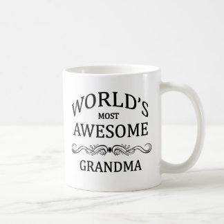 La grand-maman la plus impressionnante du monde mug