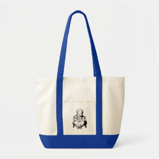La grand-maman vous a lus une conception de bande  sac en toile