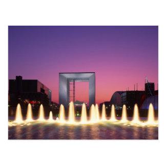 La Grande Arche, la défense de La, Paris, France Cartes Postales
