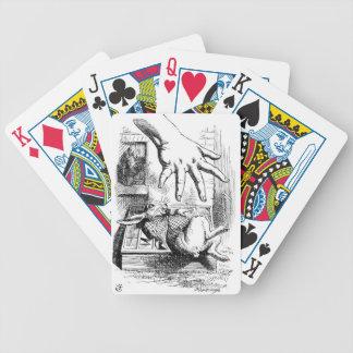 La grande main d'Alice Jeu De Cartes