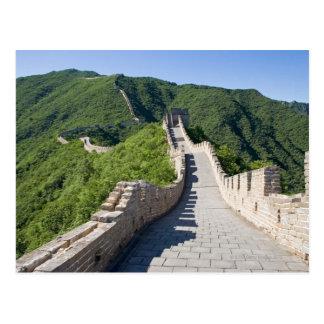 La Grande Muraille de la Chine dans Pékin, Chine Cartes Postales