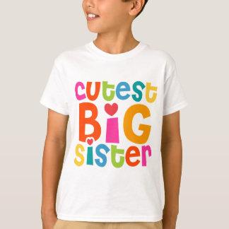 La grande soeur la plus mignonne t-shirt
