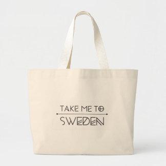 La grande trousse me estampille Take to Sweden Grand Sac