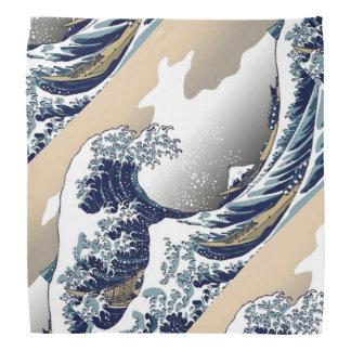 La grande vague du Bandana de Kanagawa