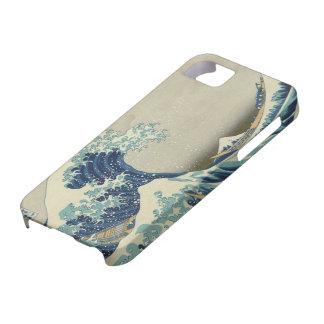 La grande vague outre de Kanagawa (神奈川沖浪裏) Étuis iPhone 5
