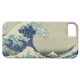 La grande vague outre de Kanagawa Coques iPhone 5