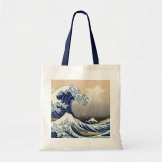 La grande vague outre de Kanagawa Fourre-tout Sacs Fourre-tout