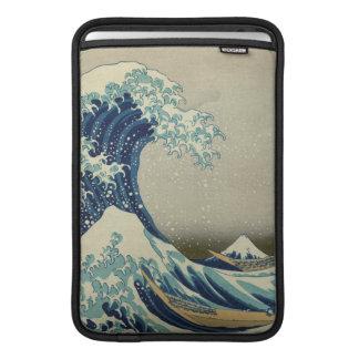 La grande vague outre de Kanagawa Housse Macbook Air