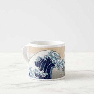 La grande vague outre de Kanagawa Mugs Pour Expresso