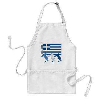 La Grèce - footballeurs Tablier