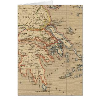 La Grece, les cotes de l'Asie Mineure Carte De Vœux