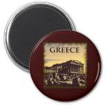 La Grèce vintage Magnets