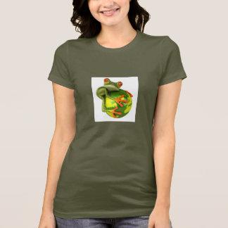 La grenouille protège le monde ! t-shirt