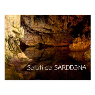 La grotte de Neptune, carte postale des textes de