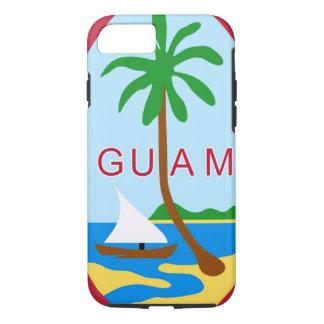 La GUAM - emblème/drapeau/manteau des bras/symbole Coque iPhone 7