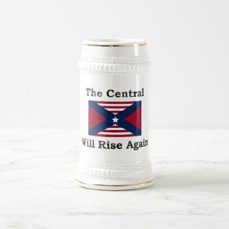 La guerre civile charrient chope à bière