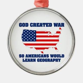 La guerre créée par Dieu ainsi les Américains appr Ornement
