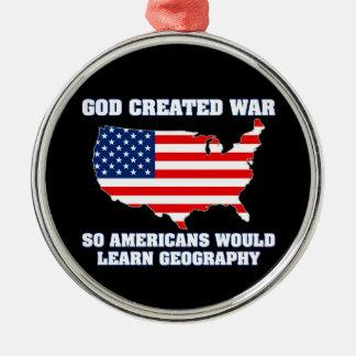 La guerre créée par Dieu ainsi les Américains Décorations Pour Sapins De Noël