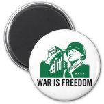La guerre est aimant de liberté