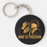 La guerre est liberté Keychain Porte-clés