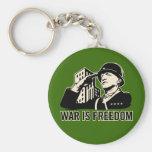 La guerre est liberté porte-clé