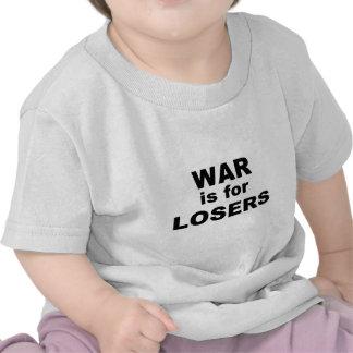 La guerre est pour des perdants t-shirts