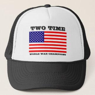 La guerre mondiale de deux fois soutient le casquette