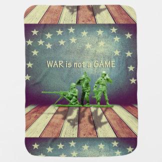 La guerre n'est pas une couverture de bébé de jeu