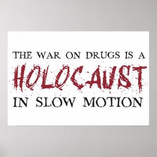 La guerre sur des drogues est un holocauste dans l affiche