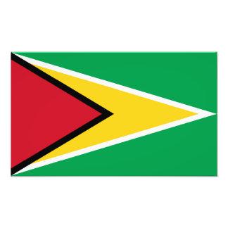 La Guyane - drapeau guyanais Photographie D'art