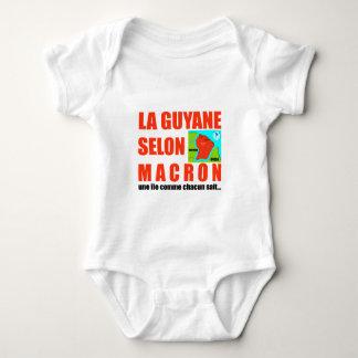 La Guyane selon Macron est une île Body