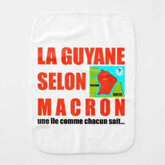 La Guyane selon Macron est une île Linges De Bébé