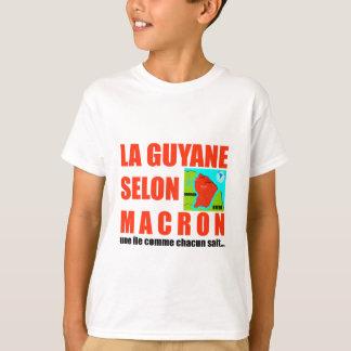 La Guyane selon Macron est une île T-shirt