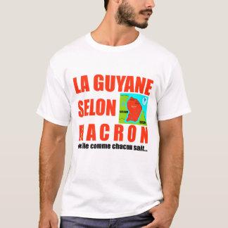 La Guyane selon Macron - T-shirt