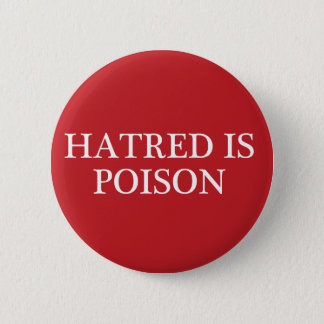 La haine est bouton régulier moyen de police de badge
