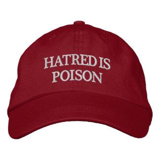 La haine est casquette de Blanc-Lettre de poison
