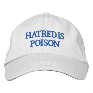 La haine est casquette de Bleu-Lettre de poison